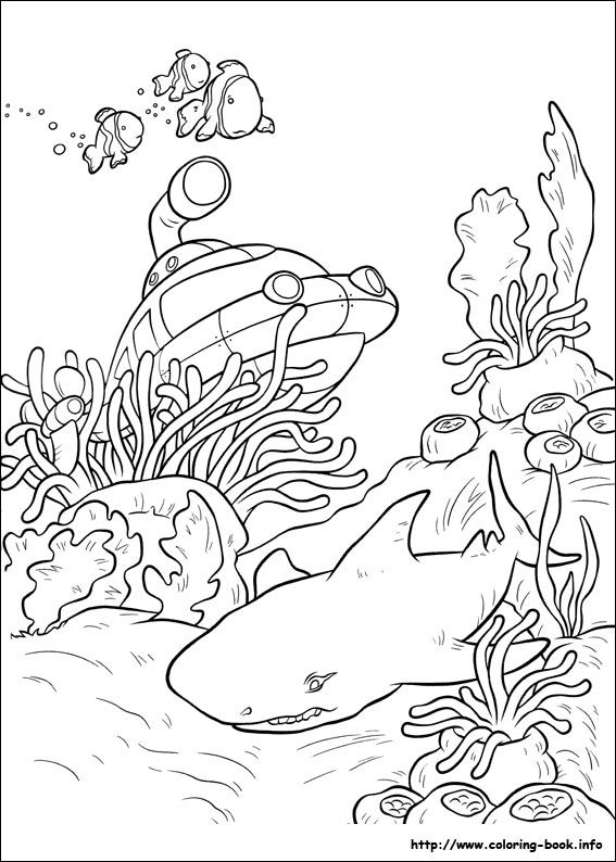 Little Einsteins Coloring Picture Ocean Coloring Pages Shark