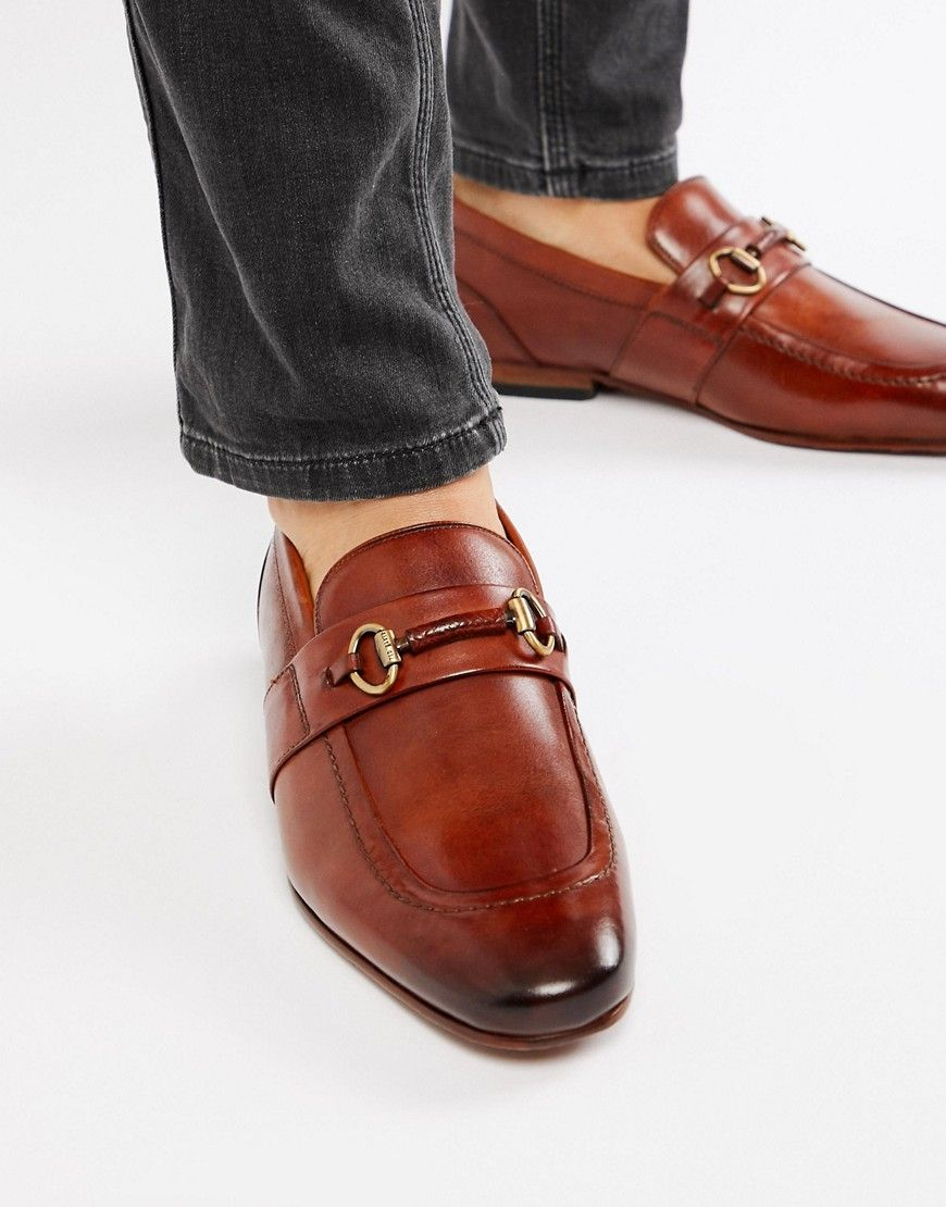 429c57a88 TED BAKER DAISER BAR LOAFERS IN TAN LEATHER - TAN.  tedbaker  shoes ...