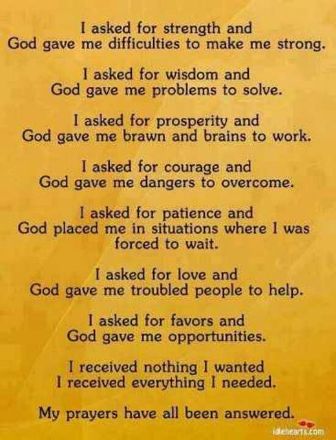 Ive Learned To Be Very Careful How I Ask For Guidanceall So True