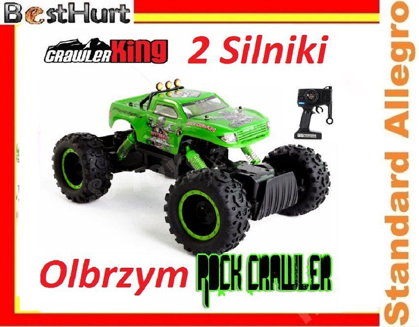 Ogromny Monster Nqd King 4x4 2 Silniki Oryginal 4656618554 Oficjalne Archiwum Allegro Monster Trucks 4x4 Monster