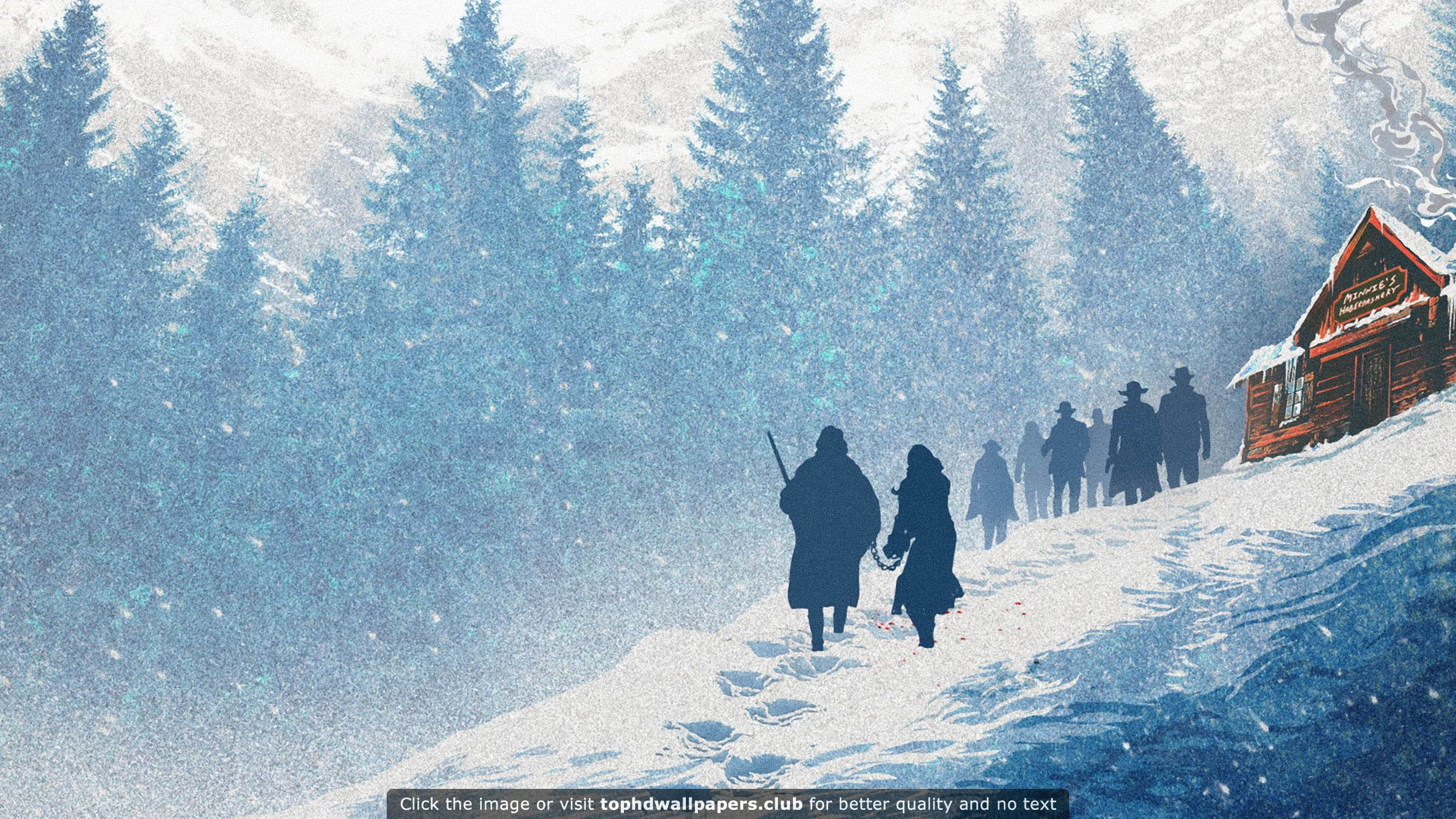 The Hateful Eight HD Wallpaper For Your PC, Mac Or Mobile