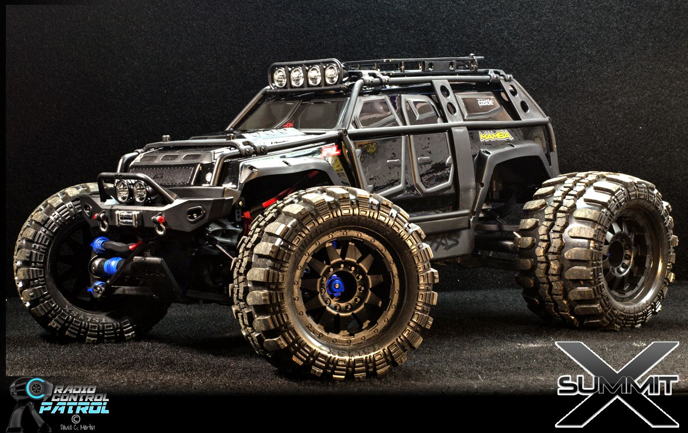 Incroyable Brushless Summit With Rok Lox Tires | Traxxas Summit | Pinterest | Cars
