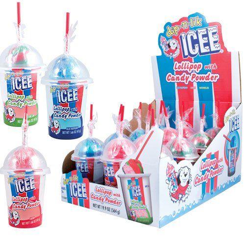 ICEE Dip-n-Lik Candy  #candy #lick #lik #ICEE #lollipop