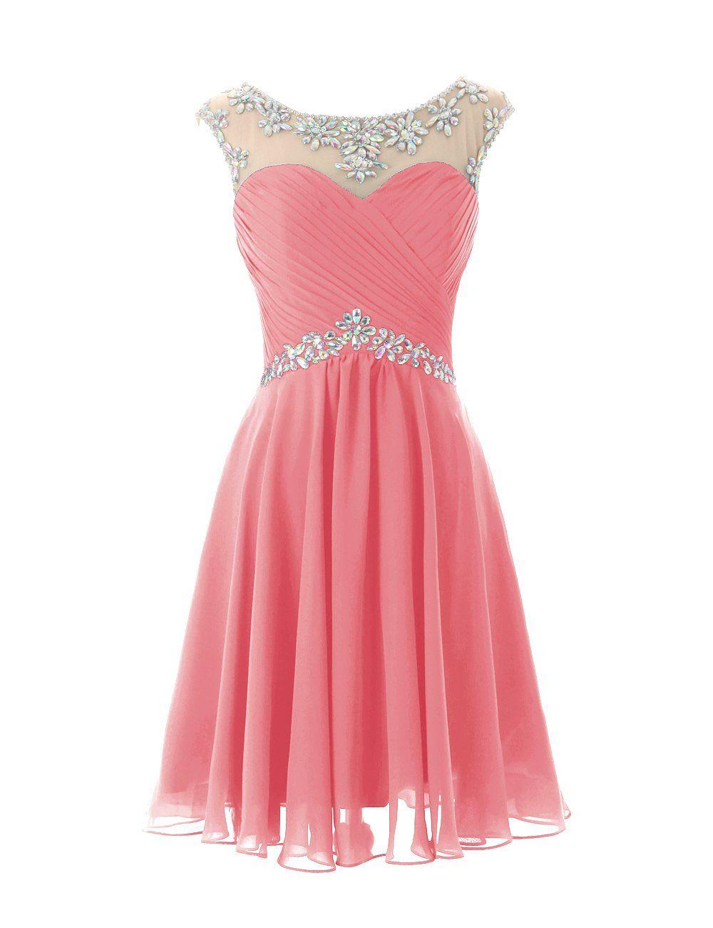 6e170123f0d Dresstells® Short Prom Dresses Sexy Homecoming Dress for Juniors Birthday  Dress at Amazon Women s Clothing store