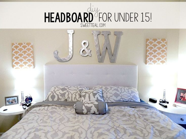 DIY Headboard for under 15 DIY Headboard for under 15