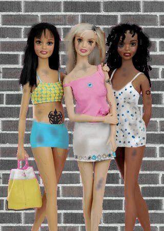 Crack Whore Barbie -Lmao