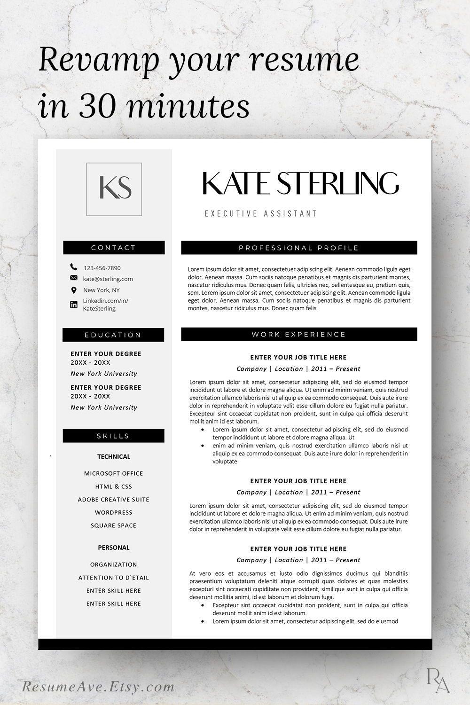 Modern Design Of Resume Template Word Download Minimal Nurse Etsy College Resume Template Nursing Resume Template Resume Template Word