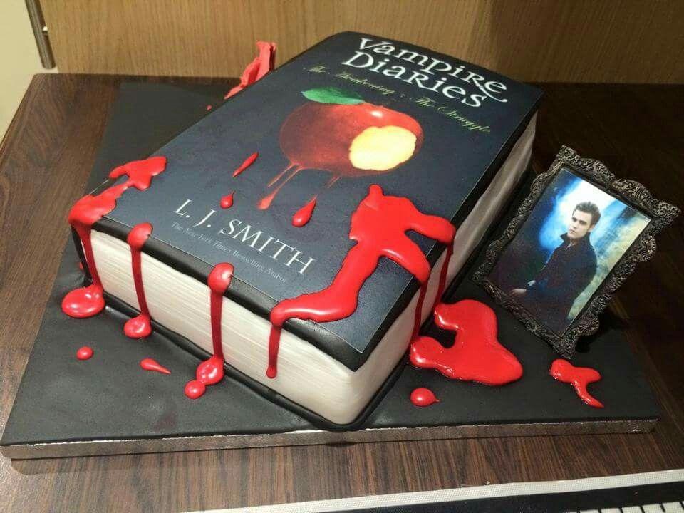 Vampire Diaries Universal Disney Pinterest Cake