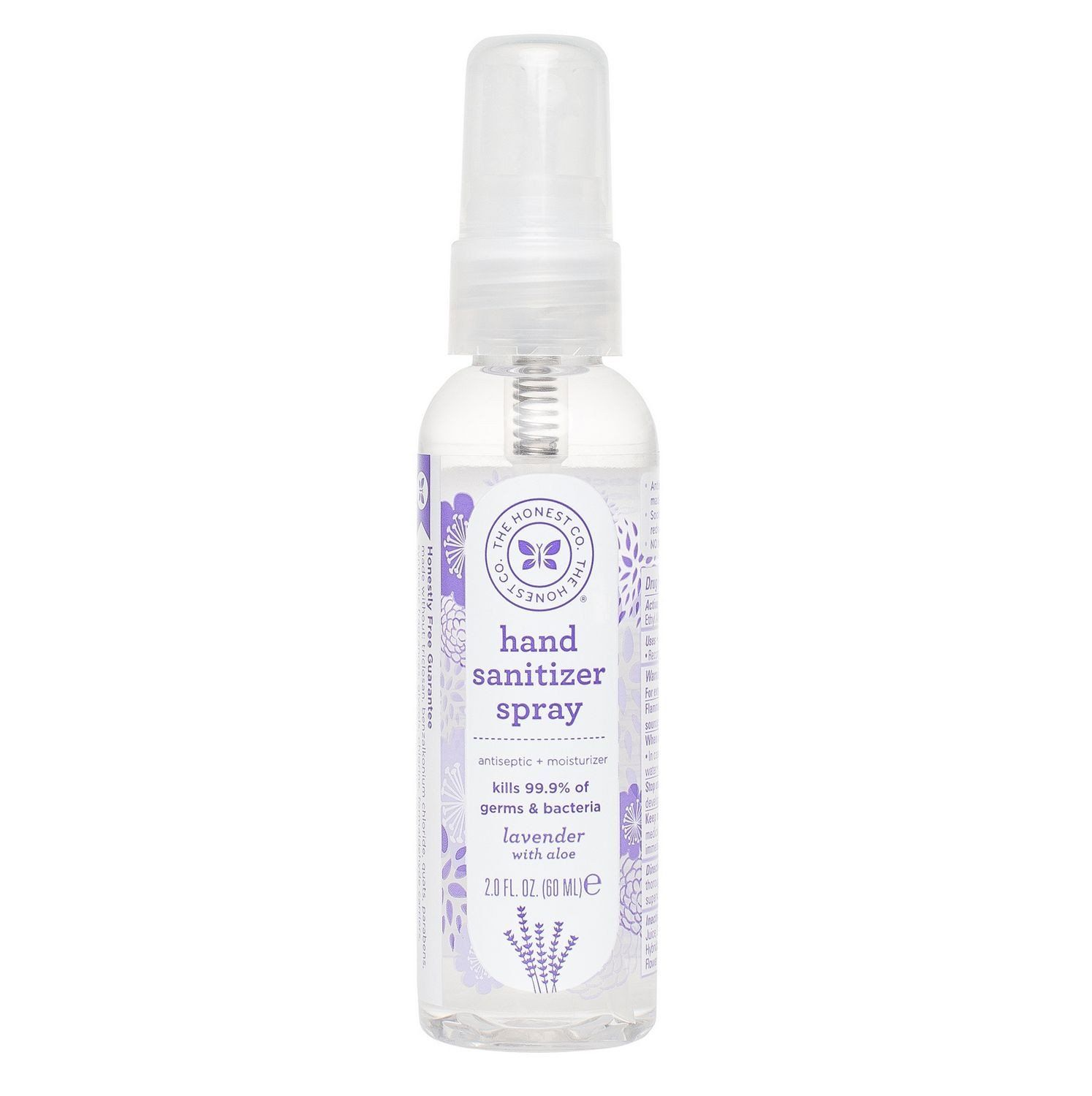 The Honest Company Honest Hand Sanitizer Spray 2oz Lavender