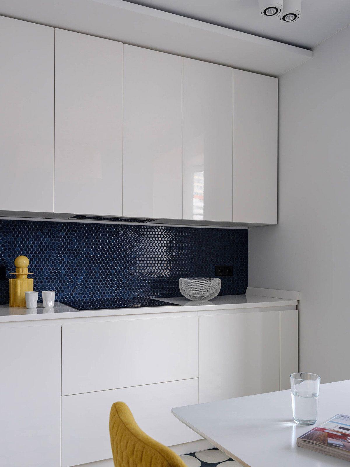75+ Blue Backsplash Ideas ( Navy, Aqua, Royal or Coastal ...