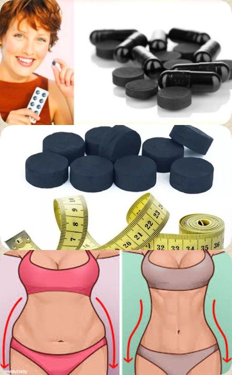 Уголь для похудения на ночь