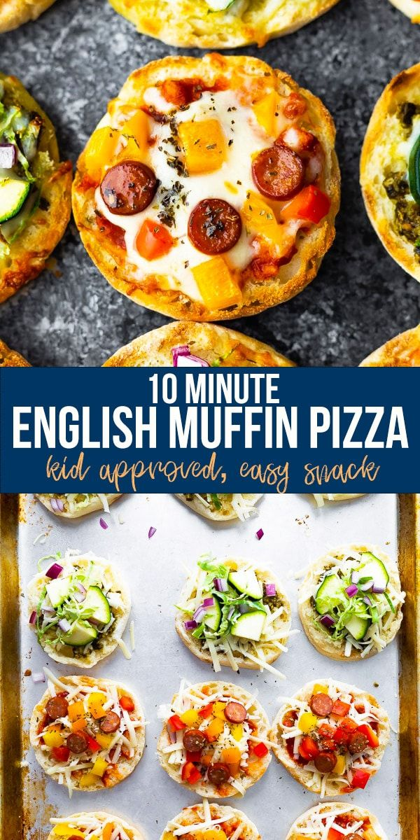 This English muffin pizza recipe is perfect for kids or an afternoon snack They are so easy to prep ahead and freeze for an easy meal prep snack