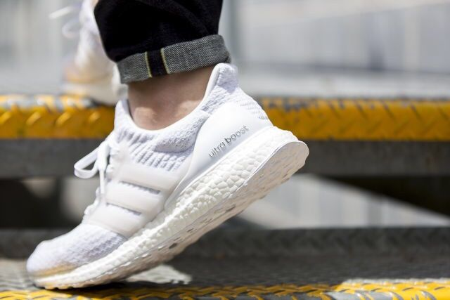 new style ead17 33a48 adidas Ultra Boost 3.0 'Triple-White' in 2019 | Sneakers ...