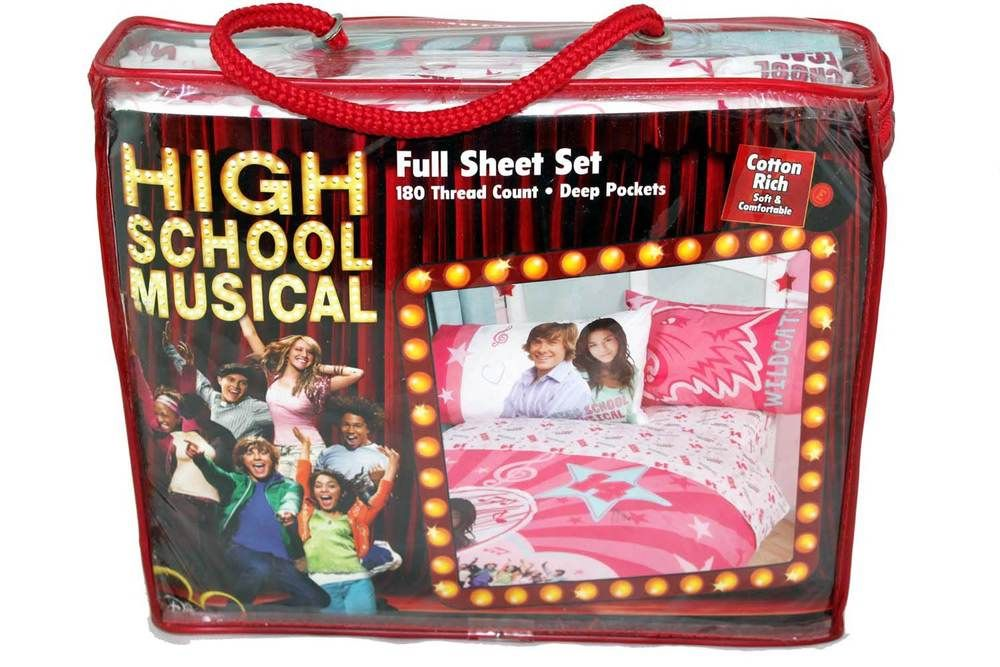 High School Musical Disney Luncheon Plates Wildcats New Free Shipping