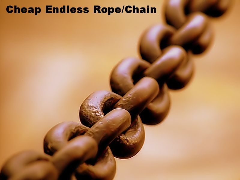 Pulling The Chain Amazing 41 A Endless Chain Rope System For Pulling Exercises  Functional Inspiration