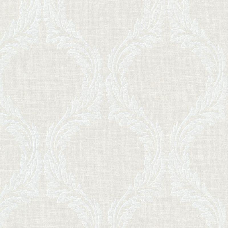 "Brewster 495-69050-SAM 8""x 10"" Sample of 495-69050 Light Grey Wallpaper Sample Sample"