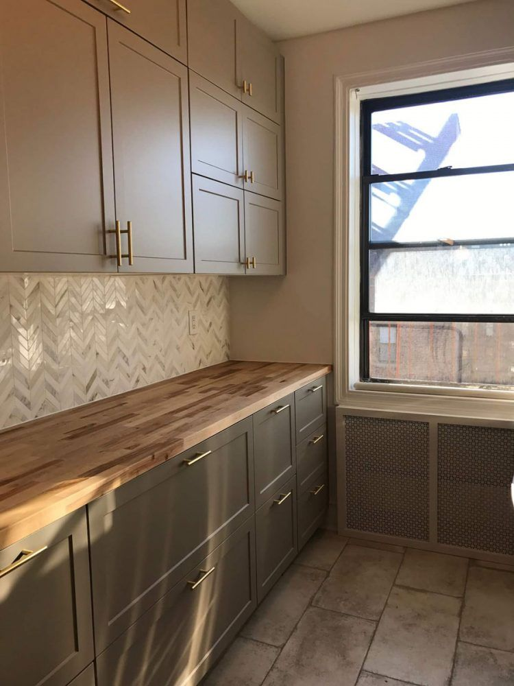 IKEA Galley Kitchen Goes From Cramped To Glam | Ikea ...