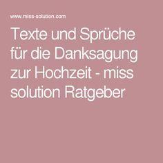 Texte Und Spruche Fur Die Danksagung Zur Hochzeit Miss Solution Ratgeber Dankeskarten Hochzeit Text Danksagung Hochzeit Spruche Text Hochzeit