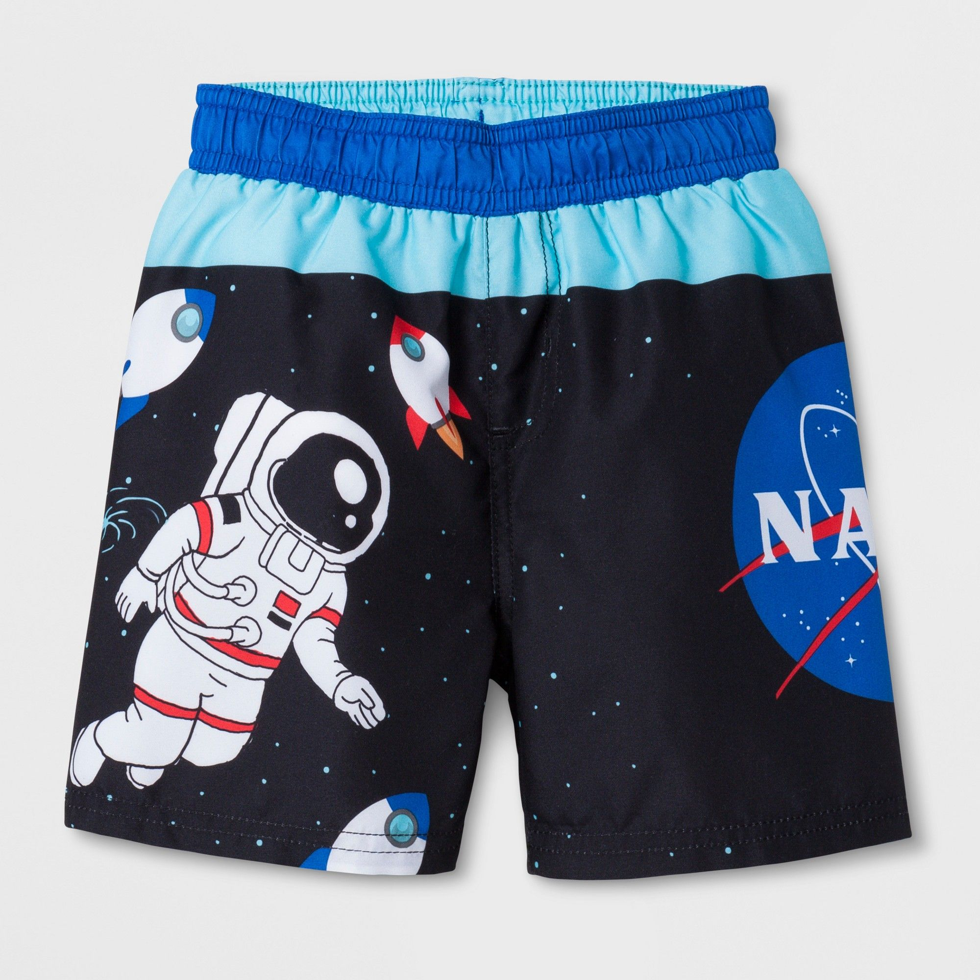 16ae3d7057 Toddler Boys' Nasa Swim Trunks - Black 3T | Products | Swim trunks ...