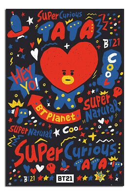 BT21 Tata Poster Official Licensed 24x36