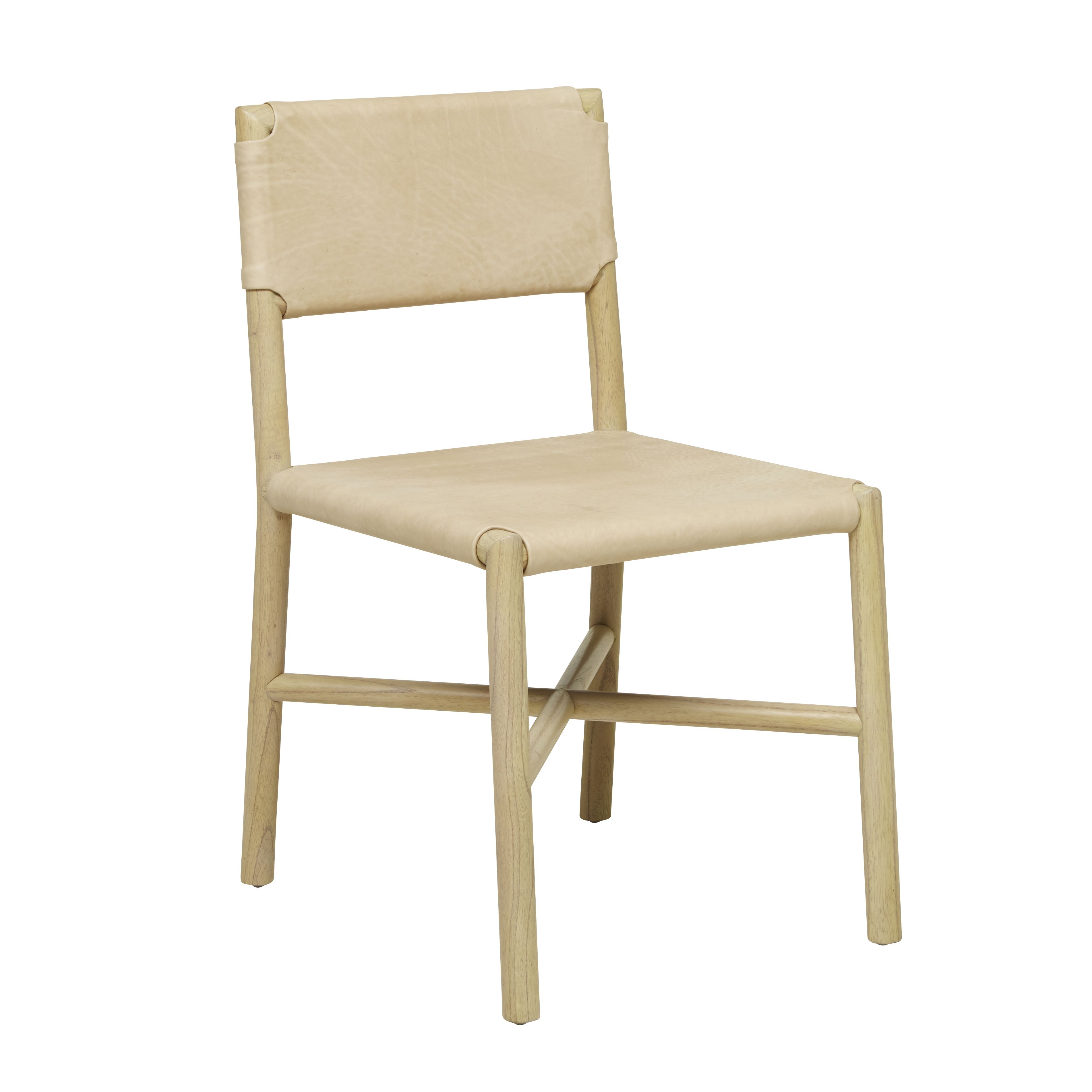 Leather dining chairs - Flat Leather Dining Chair