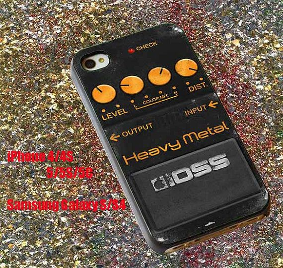 Boss Heavy Metal 4 iphone case