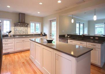 Grey Expo Silestone Google Search White Kitchen Oak Floor Kitchen Cabinets Grey And White White Kitchen Rustic