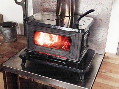 Living Prepared Wood Heat Cook Stoves For Boats And