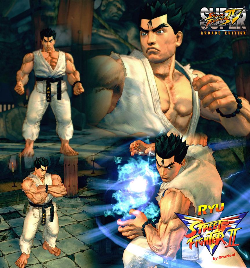 Ryu Street Fighter Ii Victory