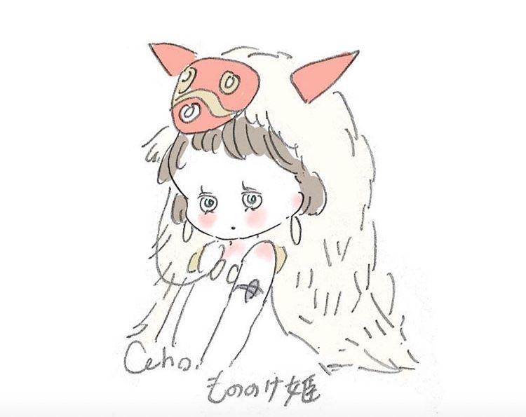 かわいい おしゃれまとめの人気アイデア Pinterest wakana ジブリ イラスト かわいい キュートなスケッチ イラスト