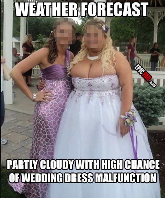 Epic Fail Wedding Dresses