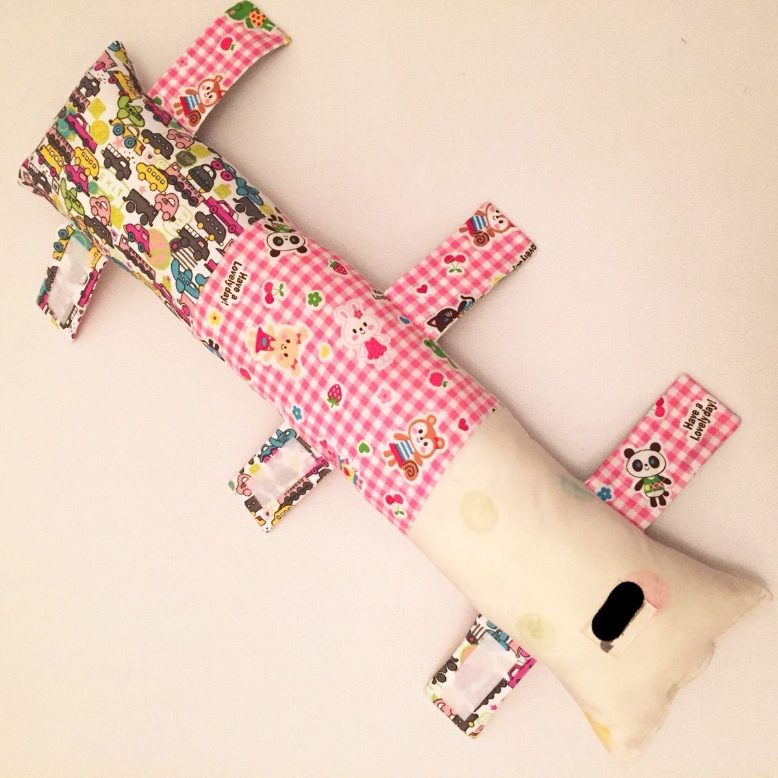 作り方 今流行りのシートベルト枕 アイラブ子育て 今できること 枕の作り方 ハンドメイド 稼ぐ おむつポーチ