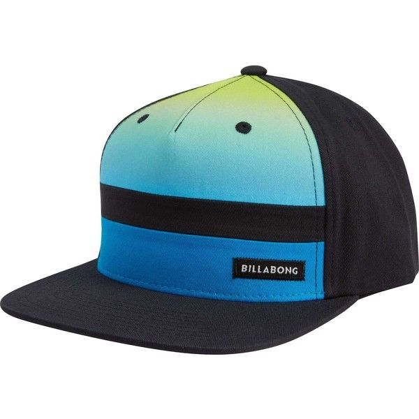 eb0cfed3c6b Billabong Unisex Tribong Snapback Hat ( 30) ❤ liked on Polyvore featuring  accessories