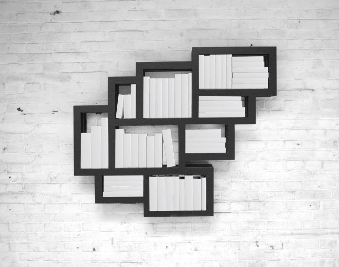 Frames Wall Mounted Book Shelf By Gerard De Hoop Product Interior Design
