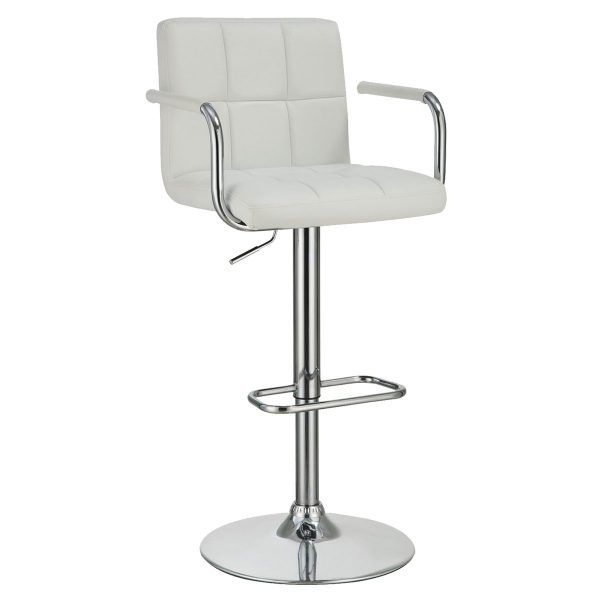 Stupendous Contemporary Waffle Vanity Arm Chair With Adjustable Height Pdpeps Interior Chair Design Pdpepsorg