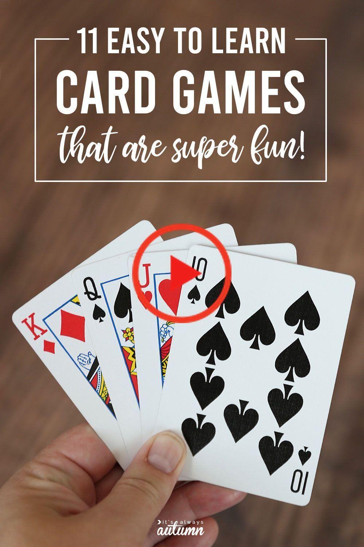 11 Fun + gemakkelijk kaarten spelletjes voor kinderen en
