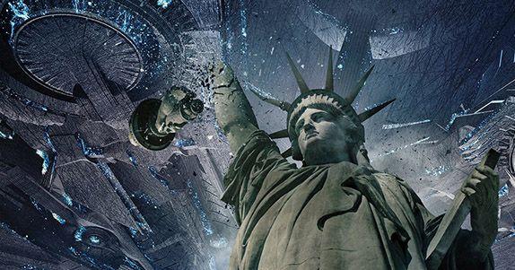INDEPENDENCE DAY: RIGENERAZIONE monumenti a pezzi nei quattro nuovi poster del film