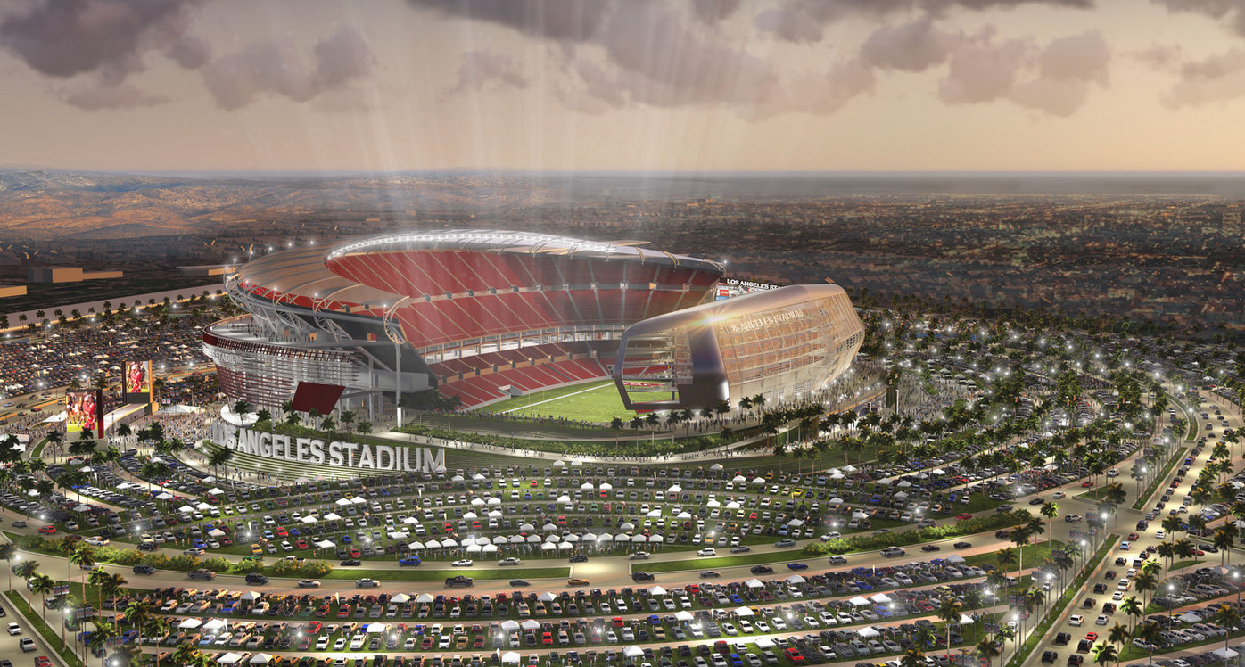 La Stadium Nfl Stadiums Oakland Raiders Stadium