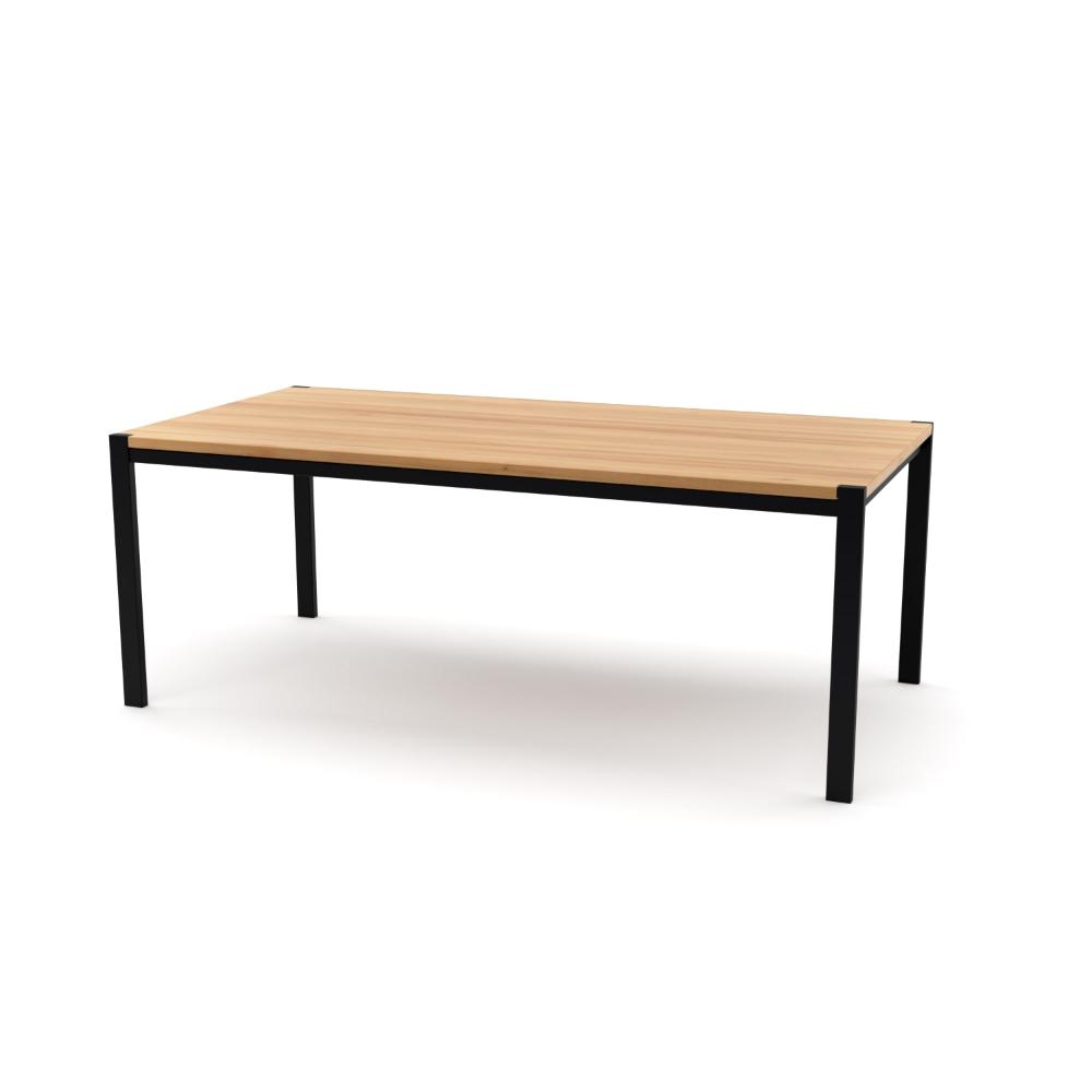 Tisch Ferrum 002 Holz Metall Ulme Schwarz Esstisch Gartentisch Stahlzart Mobel Moderne Desig Gartentisch Holz Metall Gartentisch Holz Holz Und Metall