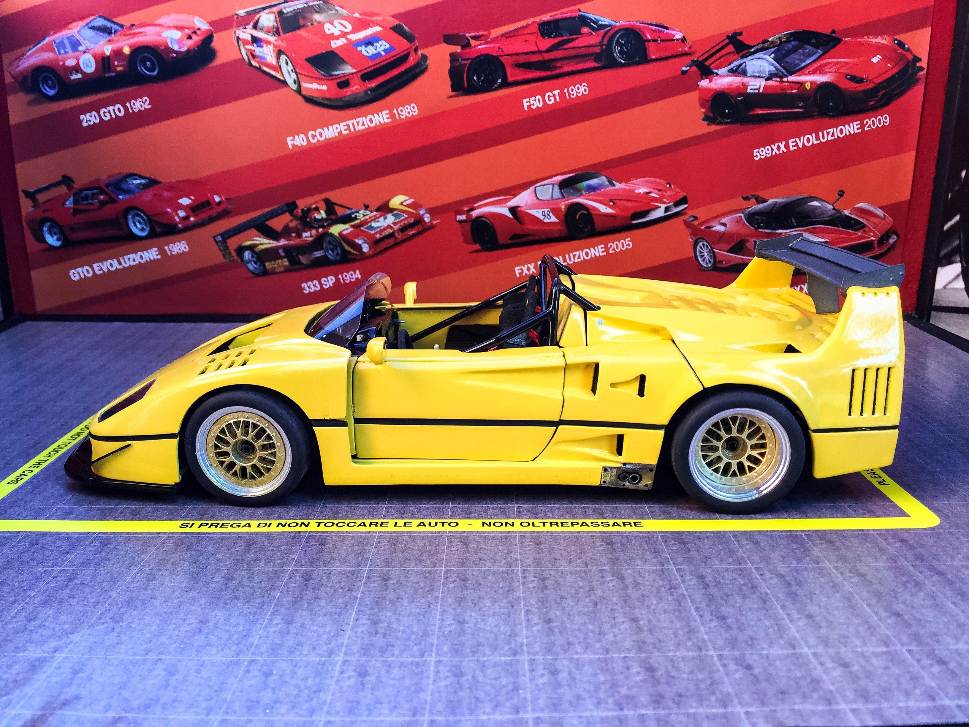 Ferrari F40 Lm Barchetta Beurlys Ferrari F40 Ferrari
