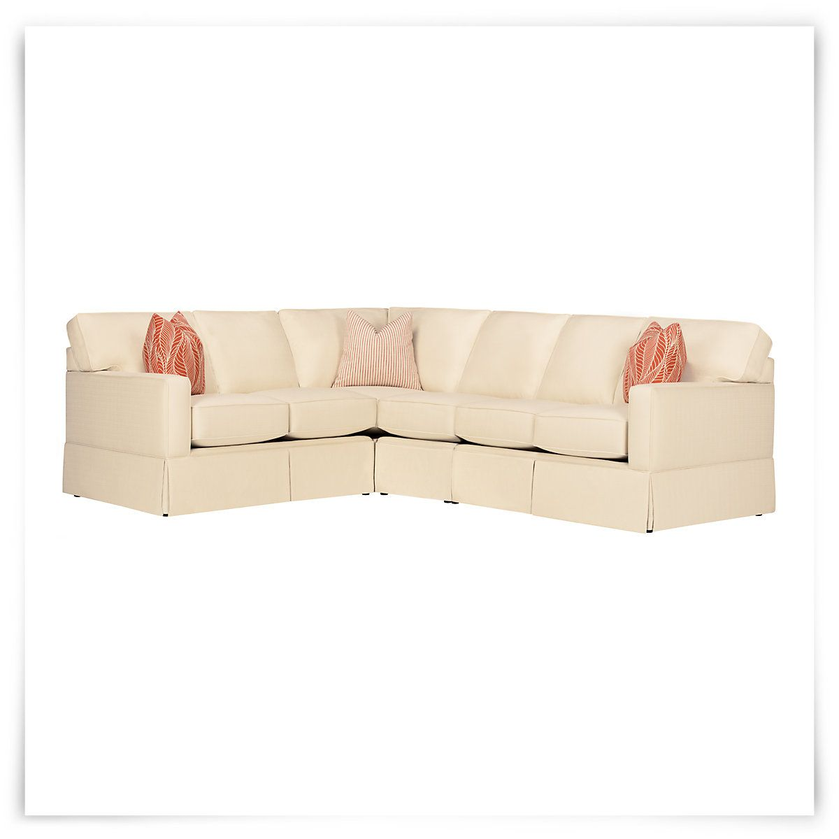 Learn how to write a will in florida, and what can happen if you don't have one. Poppy Orange Fabric Large Two-Arm Sectional | Orange ...