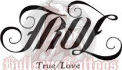 True Love Ambigram Tattoo Design At Bullseyetattoos Com Tattoo