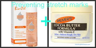 How to prevent pregnancy stretchmarks: A pregnancy lotion ritual