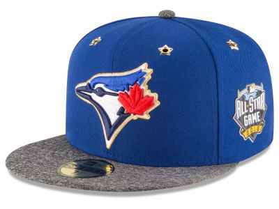 Toronto Blue Jays New Era 2016 MLB All Star Game Patch 59FIFTY Cap ... 048fd74e42a