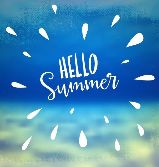 Photo of Last ned Summer Background Design gratis
