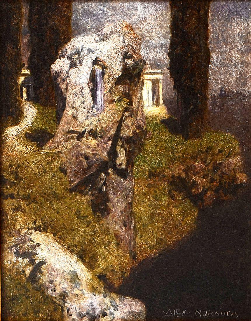 Alexander Rothaug in 2020 Landscape paintings, Landscape