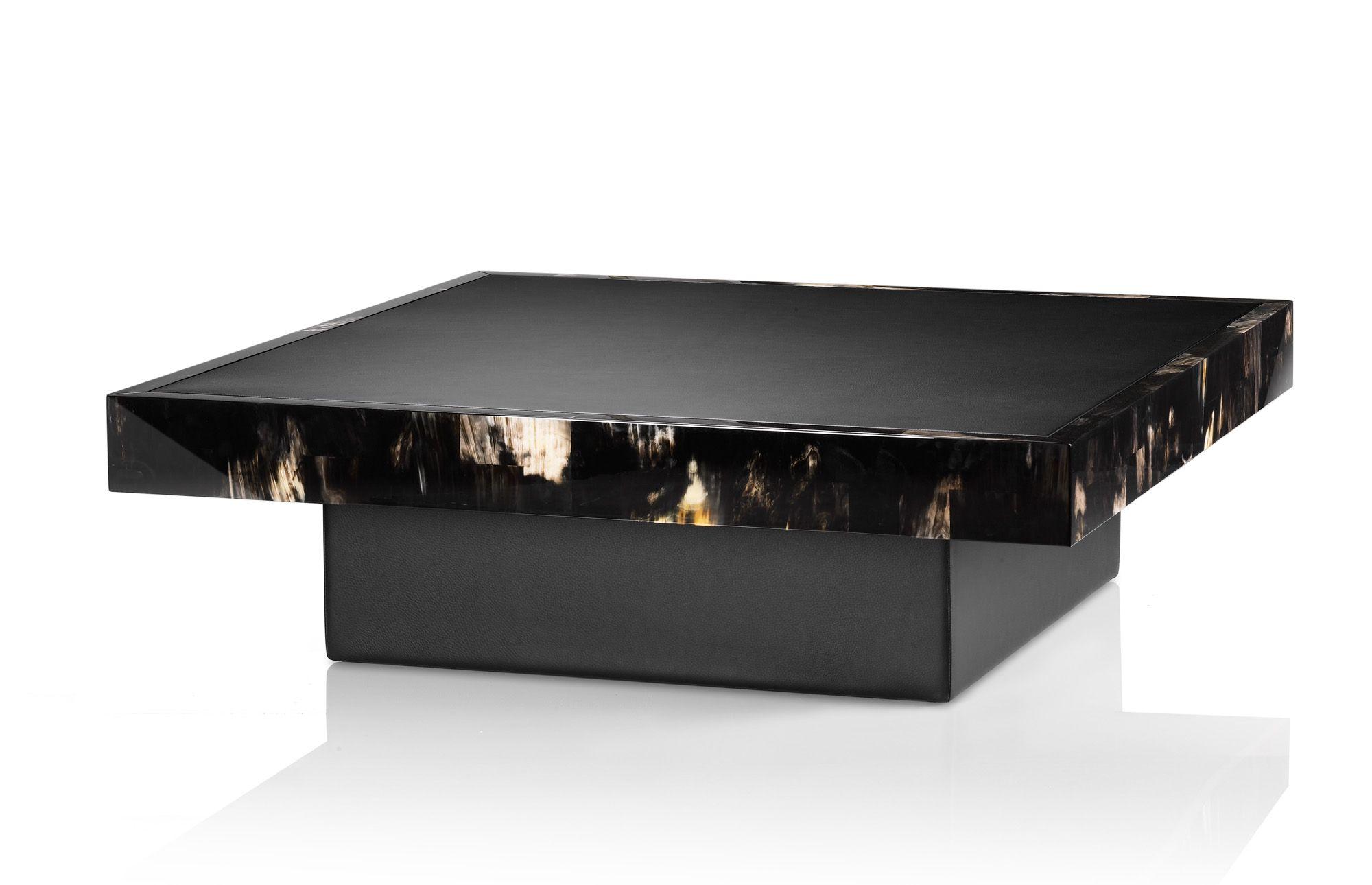 Coffee tables | Tavoli | Arcahorn 4530 Coffee table in dark horn and ...