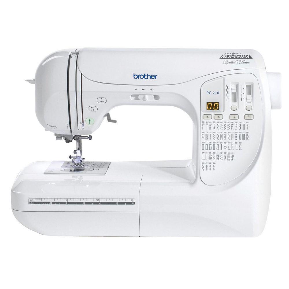 Project Runway 50-Stitch Sewing Machine, White | Project runway and ...