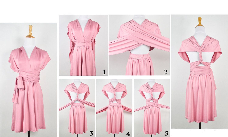 INFINITY SHORT Wrap Convertible Multi Way Dress by sugarbits, $60.00 ...