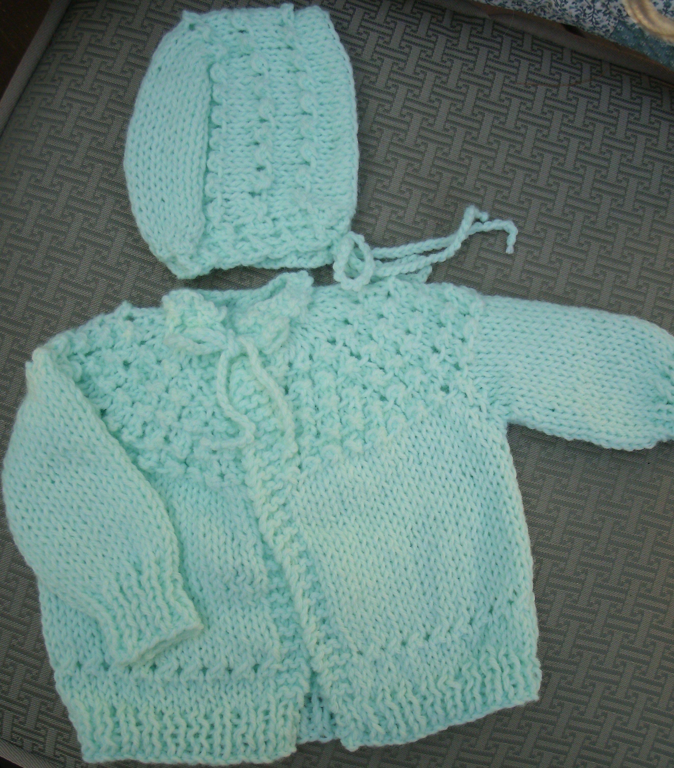 57646411eeae PH-1215G - Baby Sweater Set -